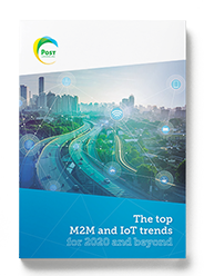 Mockup The Top M2M and IoT Trends for 2020 and beyond